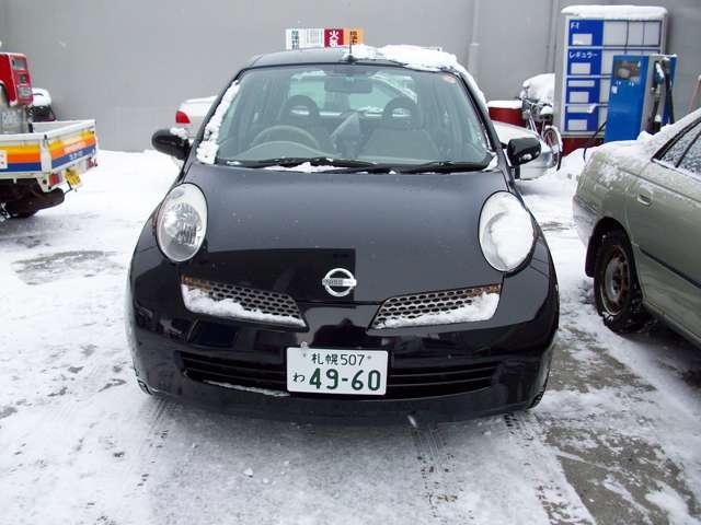 マーチ マーチ黒1 – 札幌ちょいのり中古車販売
